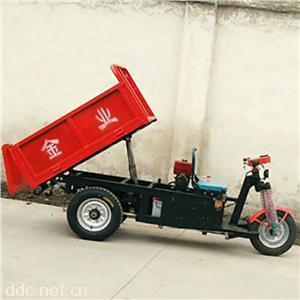 三轮自卸车三开门  电动工程车采用液压缸设计正厂出品质量保证