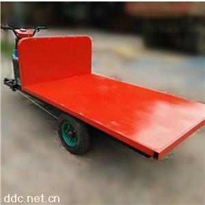 底价供应快递转运车 电动三轮平板车采用牵引性电瓶耐用持久