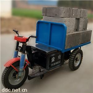 广东供应平板工地电动拉砖车 养殖场平板运输车特价销售