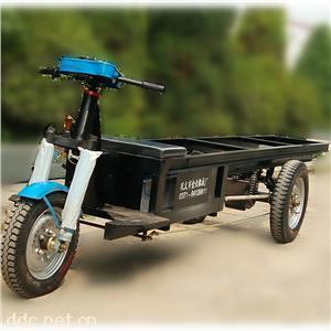 加长型电动水坯车电动无板运坯车配加重减速后桥超强载重稳定可靠