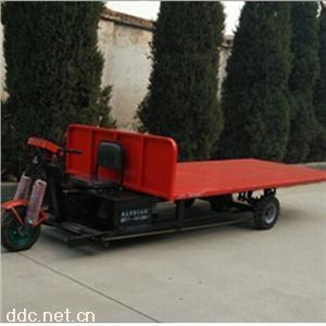 河南金业生产载重型电力驱动安全节能的电动三轮车大型电动平板车