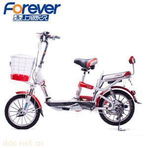 上海永久电动车锂电池电动自行车