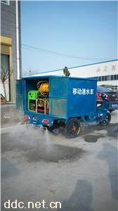 小型洒水电动三轮车