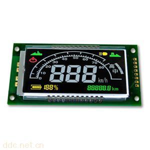 定制各种汽车仪表盘段码TFT彩屏