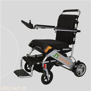 超轻上飞机电动轮椅南京金百合D06双锂电池