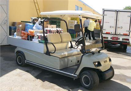 电动双排货车