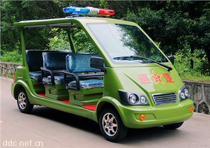 佰特6座电动治安巡逻车