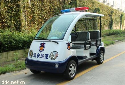 4座敞开电动巡逻车,
