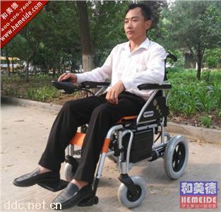 美利驰电动轮椅P108进口控制器折叠轻便老人代步车轮椅