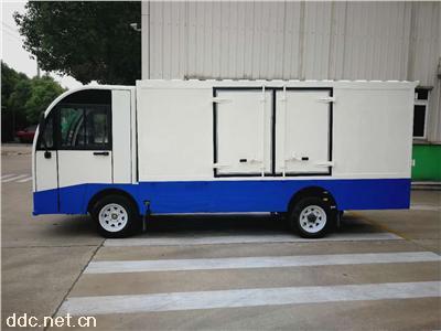 利凯士得码头专用2吨电动箱式货车