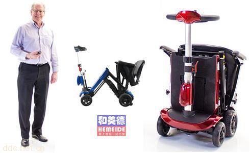 东新创折叠代步车solax舒莱适2061德国红点设计奖