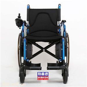 雅德YC100电动轮椅四轮折叠轻便电动轮椅