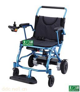 台湾美利驰P110锂电池轻便可上飞机电动轮椅
