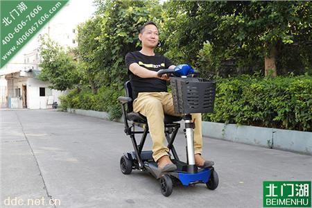 solax舒莱适3041遥控折叠型老年人电动代步车