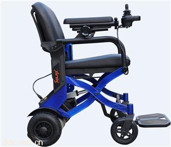 solax舒乐适7101遥控折叠电动轮椅车