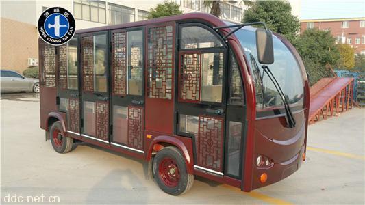 仿古电动观光车