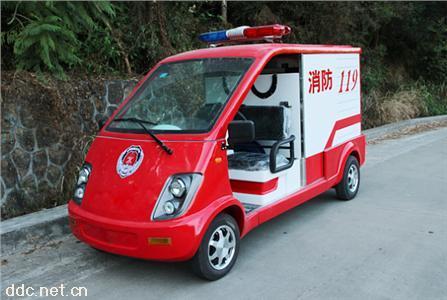 米森2座电动消防车