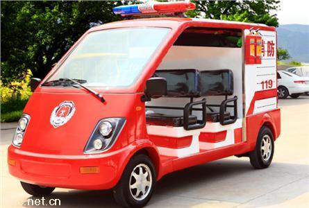 4座电动消防车