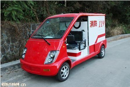 2座便捷多功能式电动消防车