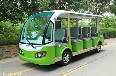 14座綠色電動觀光車