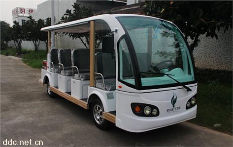 米森新款11座电动观光车