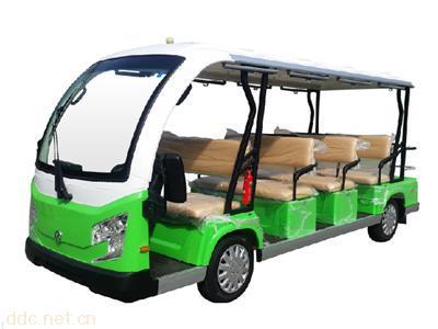 米森最新12座电动观光车