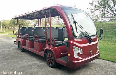 米森新15座电动观光车
