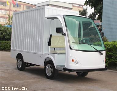 米森2座电动厢式载货车