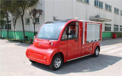 米森最新2座电动消防车