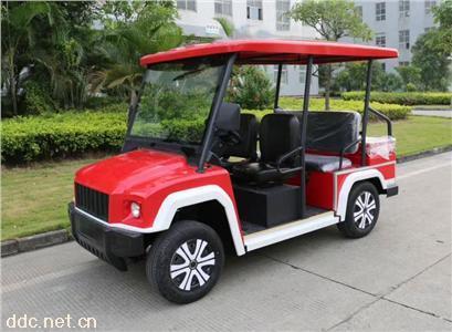 最新米森悍马款4座电动巡逻车