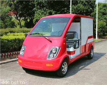 小型电动消防车