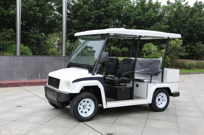 最新悍马款4座电动巡逻车