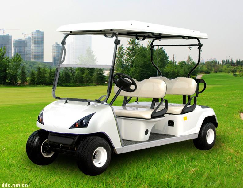 最新款豪华4座电动高尔夫球车
