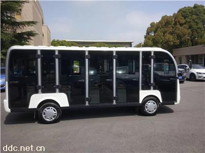 米森带门14座电动观光车