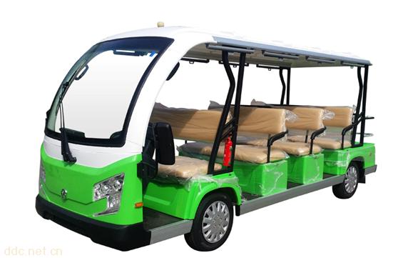 米森物业15座电动观光车