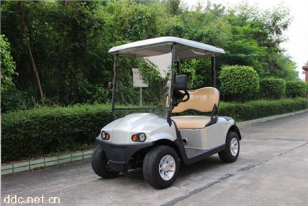 2座电动高尔夫球车(白色)