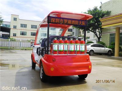 景区社区5座电动消防车
