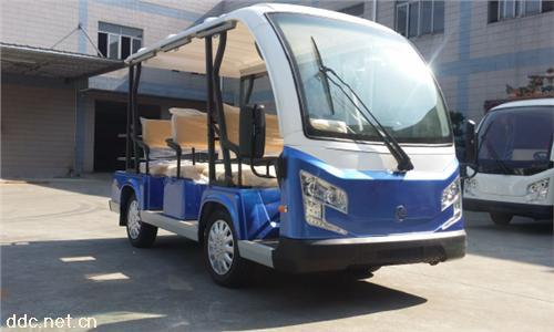 米森最新款9座电动观光车