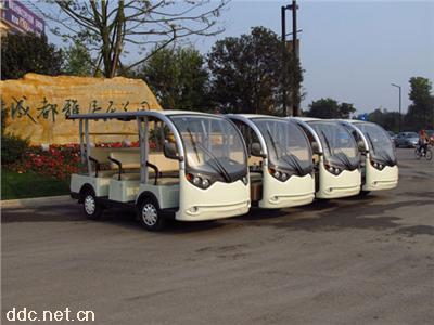 11座电动观光车米森电动