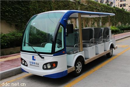 米森11座景区电动观光车直销
