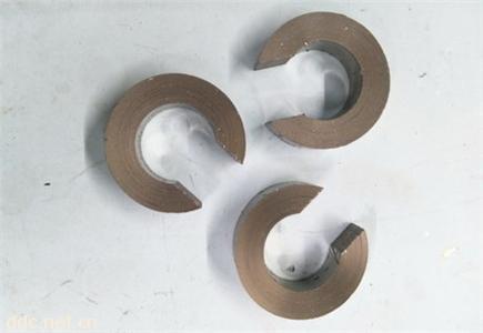 非晶纳米晶开口气隙磁环硅钢坡莫合金切口铁芯电机控制器系统用