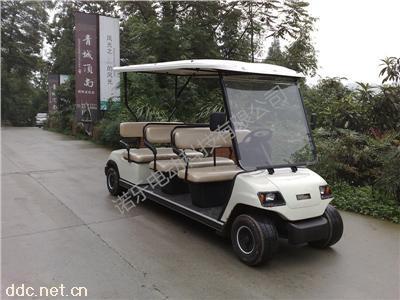 诺乐六座高尔夫蓄电池球场车