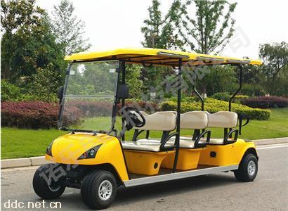 超长续航能力优质八座高尔夫接待车