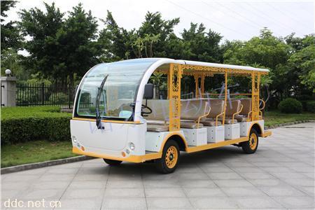 NL-23座电动观光车景区旅游