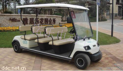 八座楼盘接待高尔夫球车
