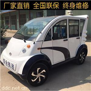 四座电动物业巡逻车