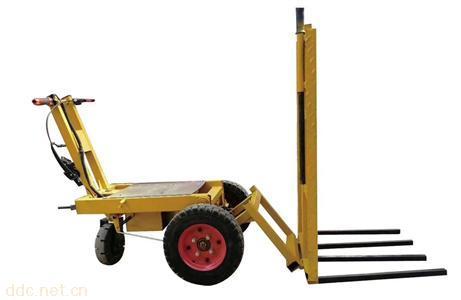 工地一车多用多功能电动翻斗车