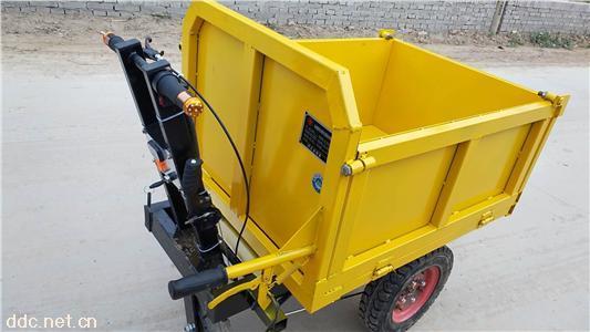 工地运输神器一车多用小猛牛电动灰斗车