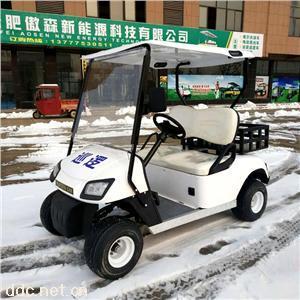 傲森品牌電動四輪2人座高爾夫球車帶斗
