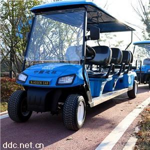 傲森8座景区四轮电动观光车